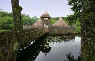 Craggaunowen - The Living Past - Kilmurry County Clare Ireland