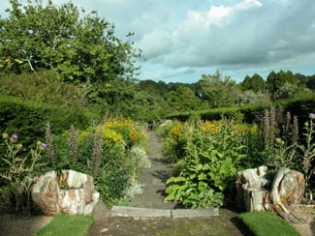 Annes Grove Garden - Walled Garden